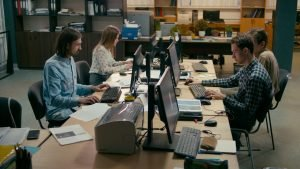 Espace de coworking en France