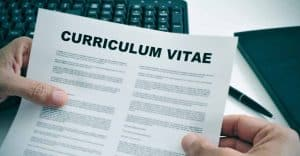 Présentation du Curriculum Vitae